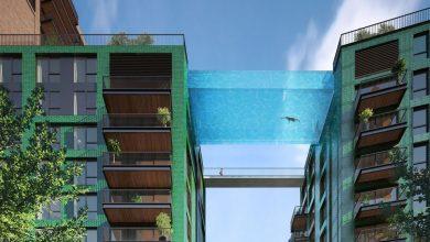 Photo of A Londra la prima piscina sospesa tra due palazzi