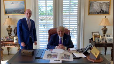 Photo of Il nuovo Studio Ovale di Donald Trump a Mar-a-Lago