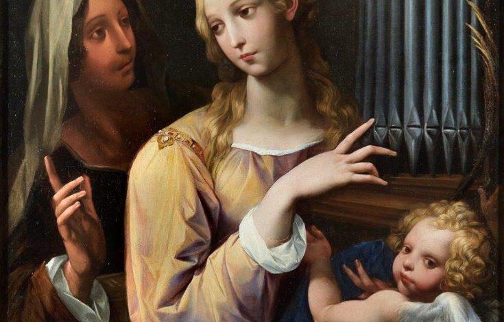 Photo of Fondazione Sorgente Group: la musica dal cielo nella Santa Cecilia del Cavalier d'Arpino